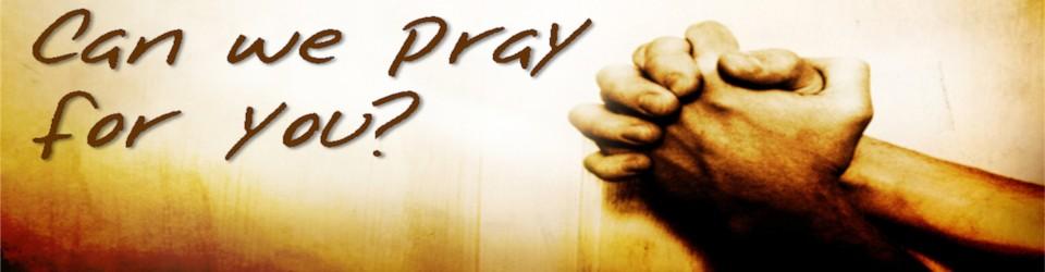 Prayer requests - Smyrna International Church